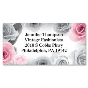 First Blush Border Address Labels