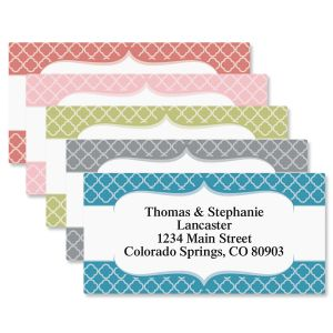 Renaissance Border Address Labels