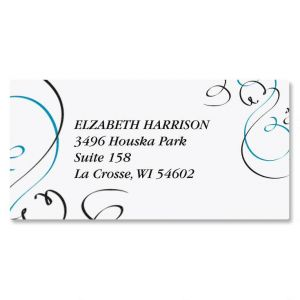 Embellish Border Address Labels