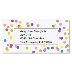 Celebrate Border Address Labels