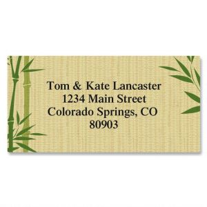 Harmonious Border Address Labels