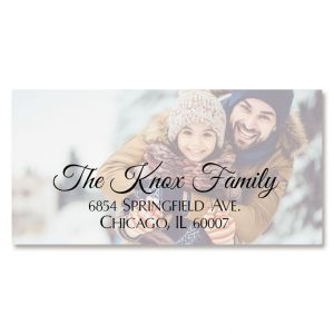 Full Border Photo Personalized Address Labels