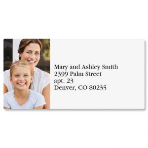 Border Photo Personalized Address Labels