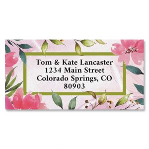 Grow Border Address Labels