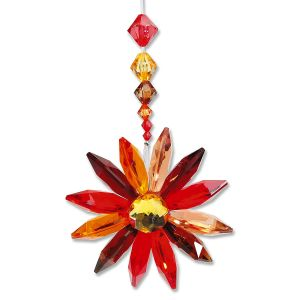 Autumn Floral Burst Ornament