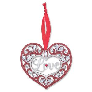Shimmer Love Ornament