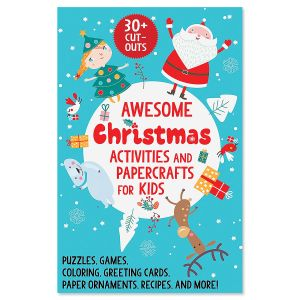 Awesome Christmas Kids' Activity Book