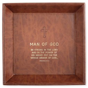 Man of God Tabletop Tray