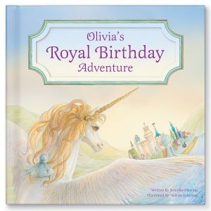 Personalized My Royal Birthday Unicorn Adventure Children's Book