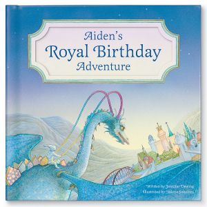 Personalized My Royal Birthday Dragon Adventure Children's Book