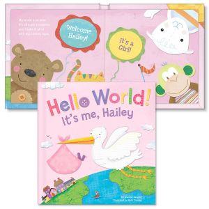 Personalized Hello World! Storybook for Girls