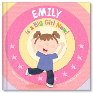 Personalized A Big Girl Now Children's Book