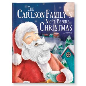 Our Family's Night Before Christmas Personalized Storybook