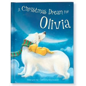 A Christmas Dream For Me Personalized Storybook