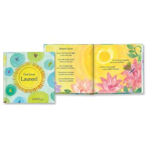 God Loves You Customized Book