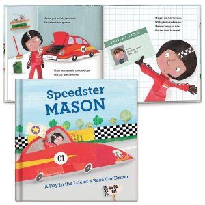 A Day in the Life of A Race Car Driver Storybook