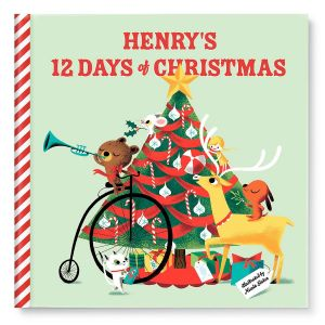 12 Days of Christmas Personalized StoryBook