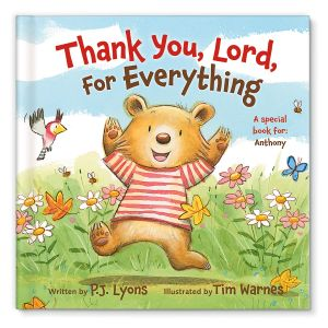 Thank You Lord Personalized Storybook