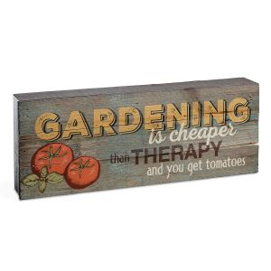 Garden Lath Box Sign