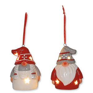 Glow Gnome Ornaments