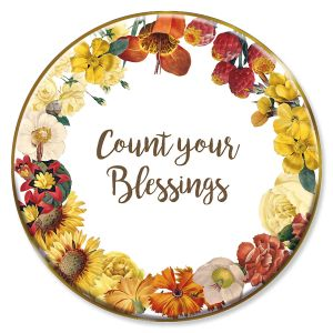 Count Your Blessings Trinket Plate