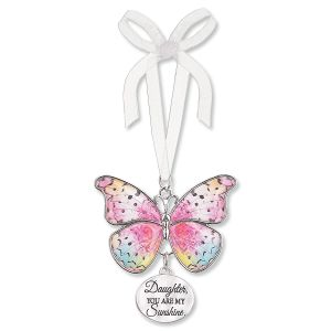 Daughter Butterfly Charm