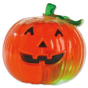 Light-Up Jack-O'-Lantern Squeezie