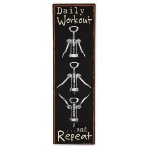 Daily Workout Plaque