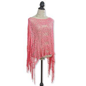 Coral Crochet Shawl