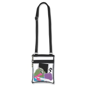 Clear Cross-Body Event Bag