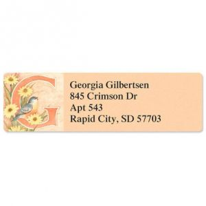 Spring Alpha Classic Address Labels