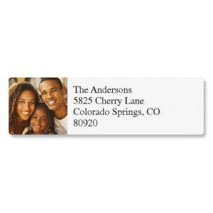 Classic Photo Personalized Address Labels