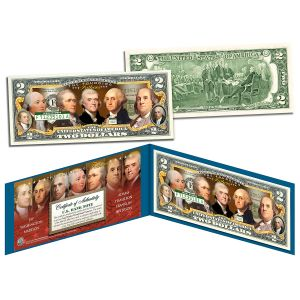 Founding Fathers Commemorative $2 Bill