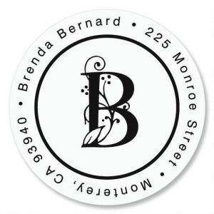 Formal Initial Round Address Label