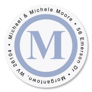 Simple Initial Round Address Labels