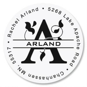 Last Name Initial Round Address Labels