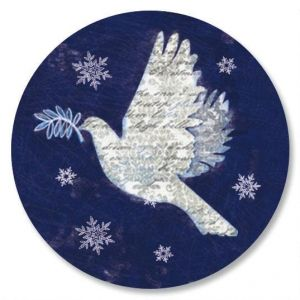 Snow Dove Envelope Seals