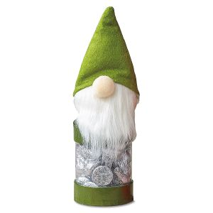 Green Elf Candy Container