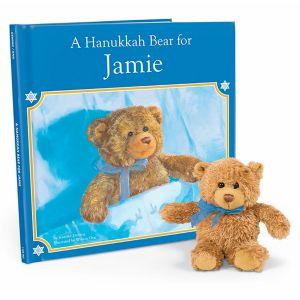 Personalized Hanukkah Bear Book