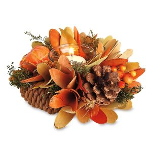 Autumn Splendor Candle Holder