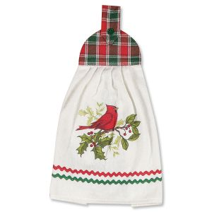 Cardinal Tie Towel