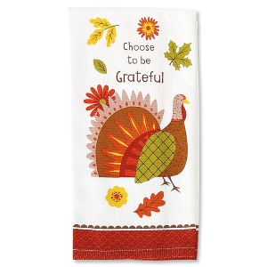 Turkey Day Grateful Towel