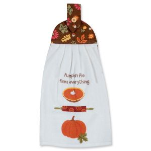 Turkey Day Tie Towel