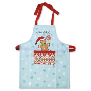 Gingerbread Christmas Apron