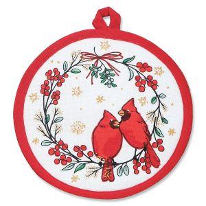 Cardinal Pot Holder