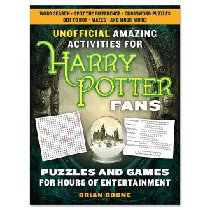 Unofficial Harry Potter Fans Amazing Activities Puzzle Book