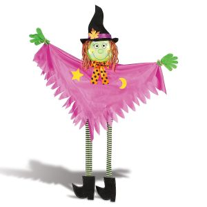 Witch Hanging Halloween Figure