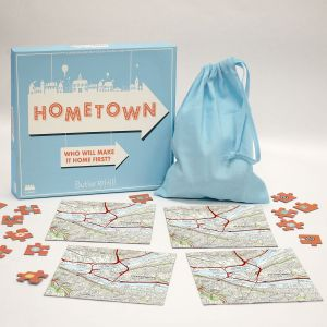 Hometown Personalized Map Puzzle Game