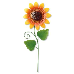 Metal Sunflower Stake