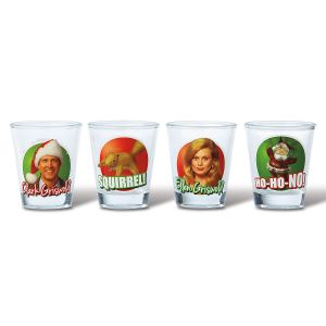 Christmas Vacation Shot Glasses